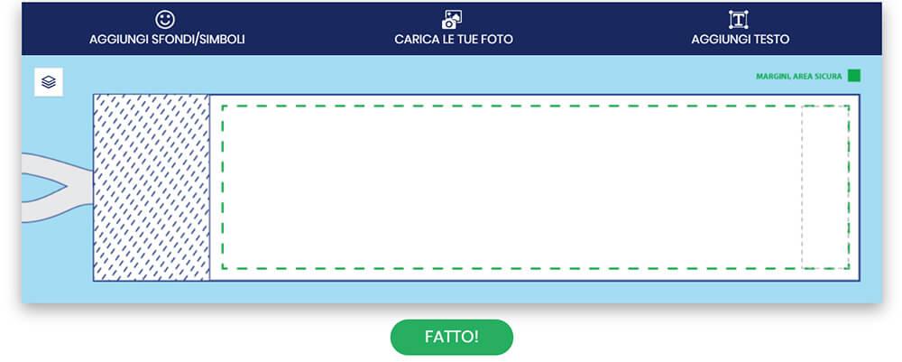Configuratore online per la tua fascia da capitano