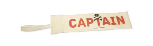 Fascia da braccio con scritta captain