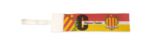 Fascia da capitano Villarosa personalizzata