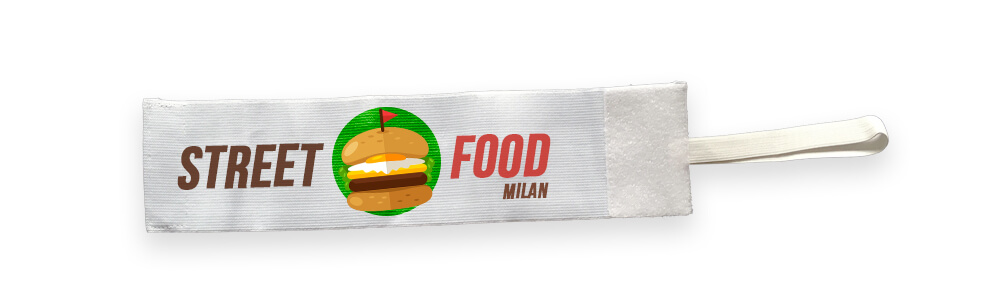 Fascia per evento street food Milano