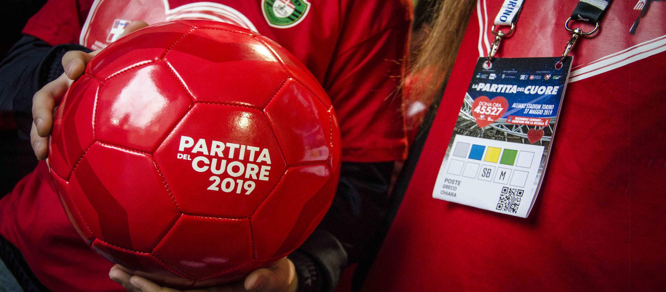 Partita del cuore 2019 a Torino con Cristiano Ronaldo