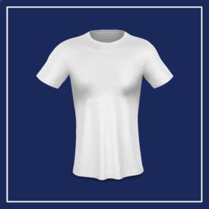 T-shirt bianca da donna da personalizzare online